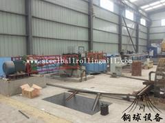 steel ball skew rolling mill