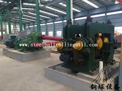 skew rolling machine for making grinding steel ball