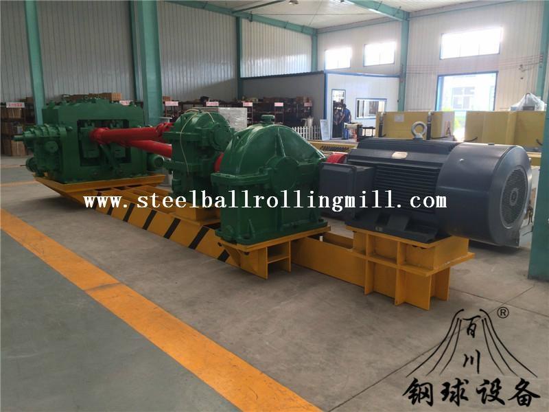 Hot rolled steel ball skew rolling mill 1