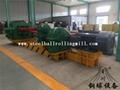 Hot rolled steel ball skew rolling mill