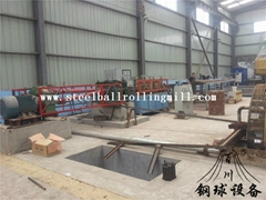 hot rolled steel ball line