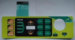 Embossed Tactile Membrane Switch Support Panel