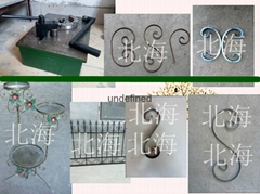 Hand-operated pattern bending machine