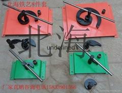 鐵藝設備手動彎花機