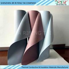 high temperature and insulation resistance silicone rubber coated fiberglass clo