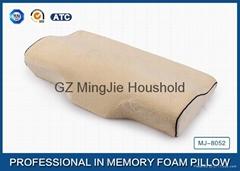 Curve Contoured PU foam Sleep Pillow
