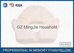 Small Ring Cute Memory Foam Sleep Pillow / Memory Foam Car Seat Cushion