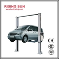 Two post car lifting machine for