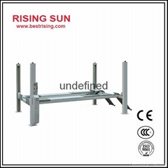 Four post garage car lift with CE