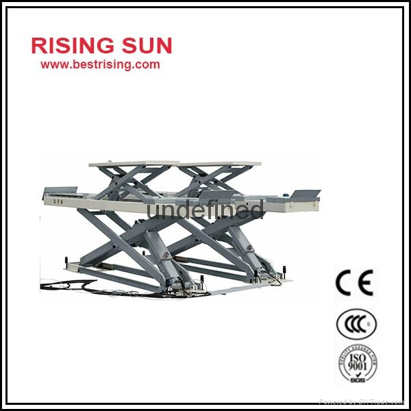 Inground used wheel alignment lift for garage - RS-35W