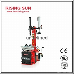 Semi automatic swing arm tire changer with CE