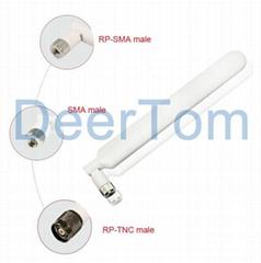 698-2700MHz 4G LTE Rubber Duck Antenna 12dBi Huawei B593 Antenna