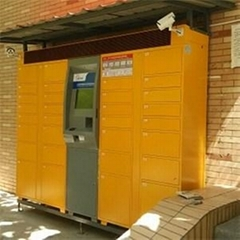 32 Door Electronic Locker For Parcel Delivery