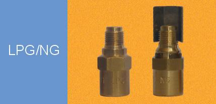 燃气喷头/缺氧保护装置 1