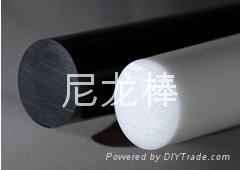 聚丙烯棒顏色米黃色  灰色PP棒 實心棒 5