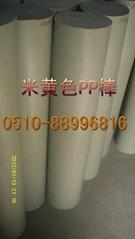 聚丙烯棒顏色米黃色  灰色PP棒 實心棒