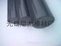 黑色PVC棒 黑色聚氯乙烯棒PVC棒 3