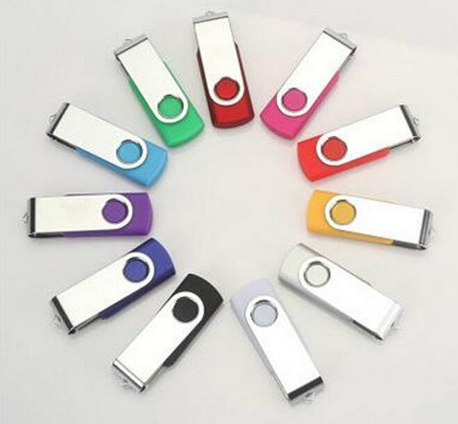 旋轉工廠定製u盤16g 優盤4/8g 創意商務禮品高速USB 2.0 3.0 U盤 1