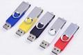 旋轉工廠定製u盤16g 優盤4/8g 創意商務禮品高速USB 2.0 3.0 U盤 3
