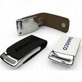 8GB PU Leather U disk USB flash drive  memory card OEM ODM