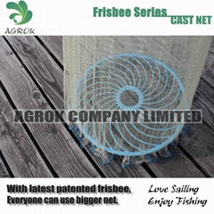 The Frisbee-Super Easy Cast Net