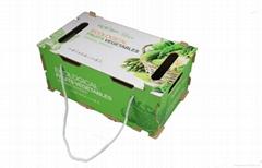 水果蔬菜包裝木箱