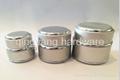 Good quality  aluminum jar with screw