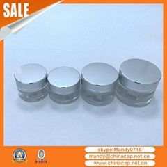 5g10g15g20g30g Silver Gold  Cosmetics Jar Aluminum Cap