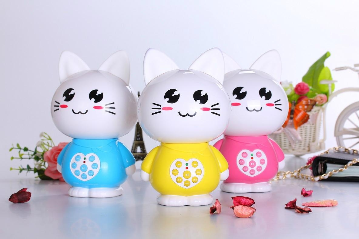 Factory supply educational toys cat story machine M2 4