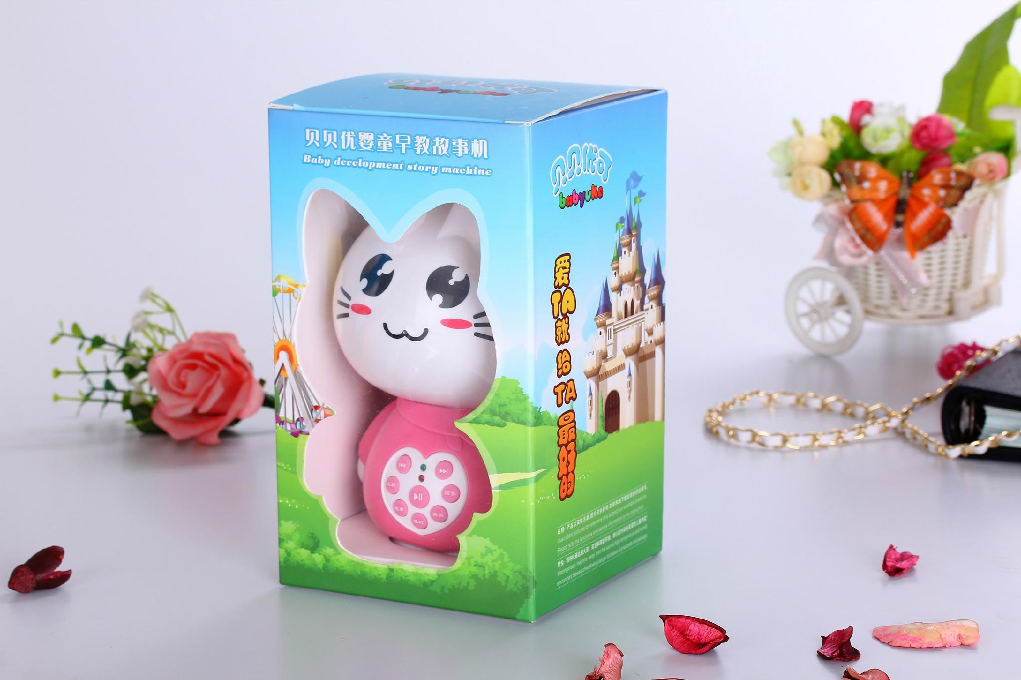 Factory supply educational toys cat story machine M2 5