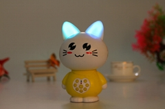 Factory supply educational toys cat story machine M2