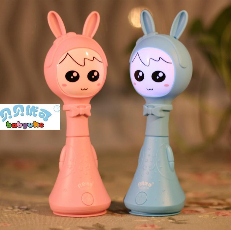 貝貝優可貝貝優嬰童電子智能搖鈴L1-新一代早教益智玩具寶寶禮物 5