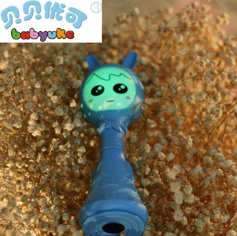贝贝优可婴童电子智能摇铃L1-新一代早教益智玩具宝宝礼物 4