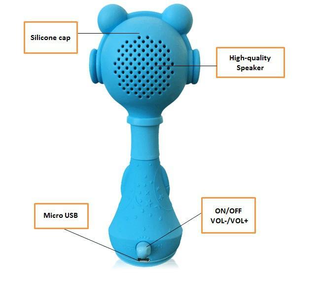 贝贝优可婴童电子智能摇铃L2-新一代早教益智玩具宝宝礼物 5
