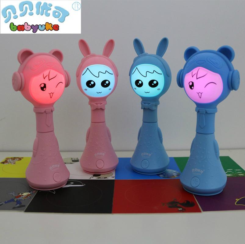 贝贝优可婴童电子智能摇铃L2-新一代早教益智玩具宝宝礼物 4