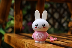 Factory supply mini rabbit learning machine for kids (Q9)
