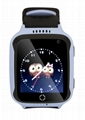 贝贝优可儿童智能GPS定位手表宝宝礼物W4 3