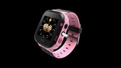 貝貝優可儿童定位電話手錶W1