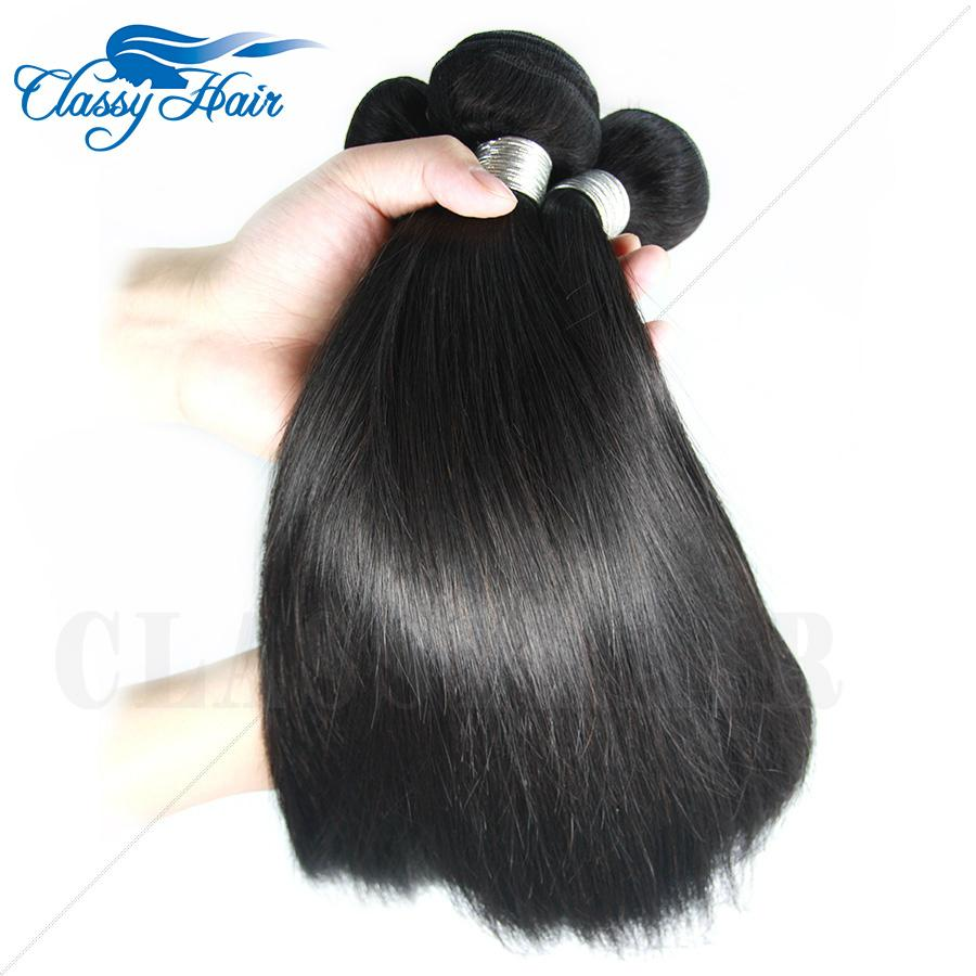 7A hotsale Raw Unprocessed Straight Peruvian Weft Human Hair Weave Fast Delivery 1