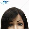 Straight Unprocessed Full Lace Human Hair Short Bob Wigs 2