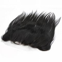 Virgin Human Hair Ear to Ear Lace Frontal Closure