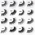 3D Mink Eyelashes Fake Eyelash Handmade False Lashes Soft Natural Long Eye Lash 2