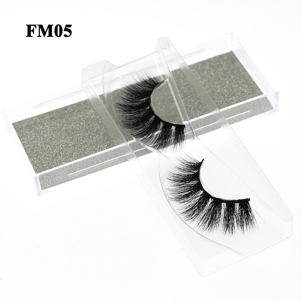3D Mink Eyelashes Fake Eyelash Handmade False Lashes Soft Natural Long Eye Lash 3