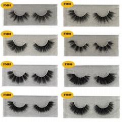 3D Mink Eyelashes Fake Eyelash Handmade False Lashes Soft Natural Long Eye Lash