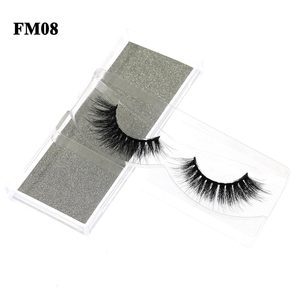 3D Mink Eyelashes Fake Eyelash Handmade False Lashes Soft Natural Long Eye Lash 4