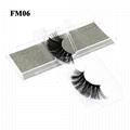 3D Mink Eyelashes Fake Eyelash Handmade False Lashes Soft Natural Long Eye Lash 5