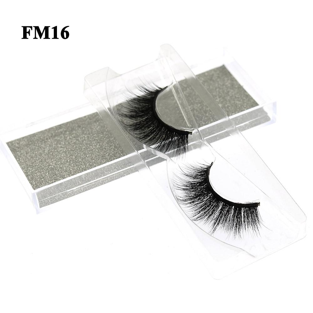 3D Mink Look False Eyelashes Mink Lashes Extensions 4