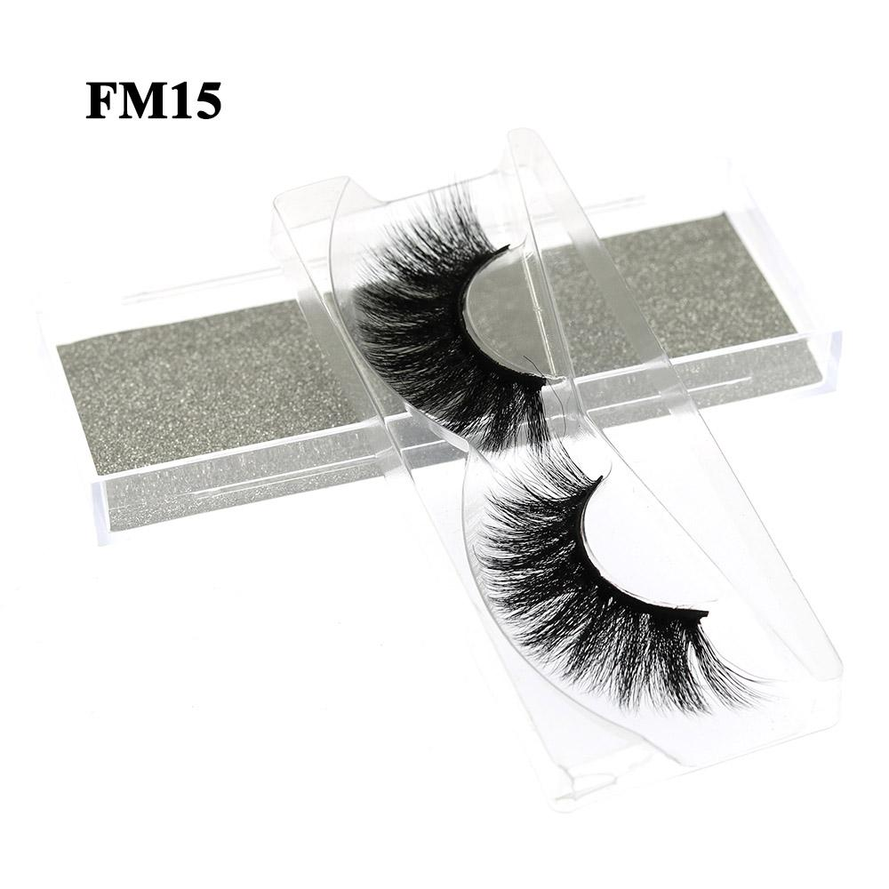 3D Mink Look False Eyelashes Mink Lashes Extensions 5