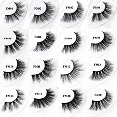 3D Mink Look False Eyelashes Mink Lashes Extensions