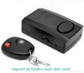Wireless Remote Control Vibration Detector Alarm Security Bike Alarm System  1